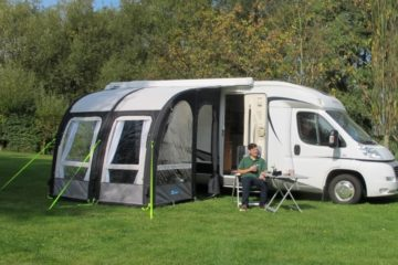 Camping in a Motor Home or a Tent